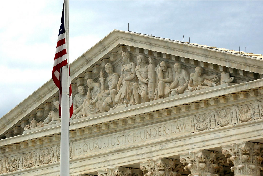 FILE PHOTO: A view of the U.S. Supreme Court building is seen in Washington, DC, U.S. on October 13, 2015. REUTERS/Jonathan Ernst/File Photo