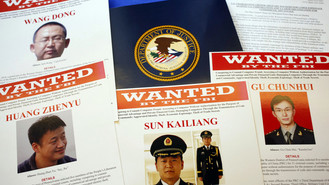 U.S. Charges Five Chinese Military Officers With Spying