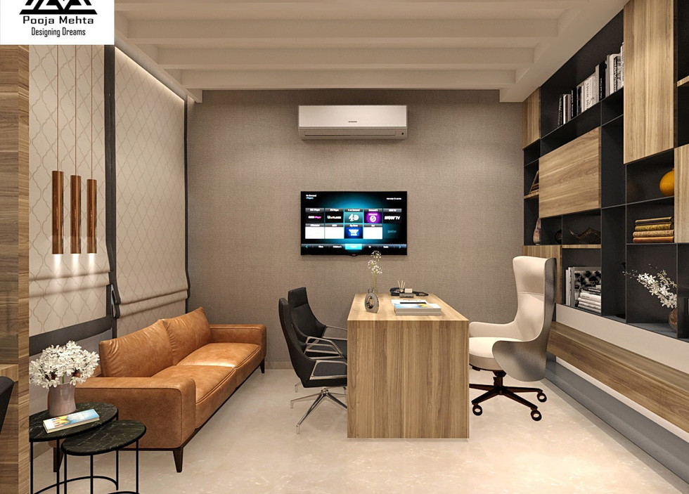 Best Office Interior Designers In Mumbai - Pooja Mehta Designing Dreams