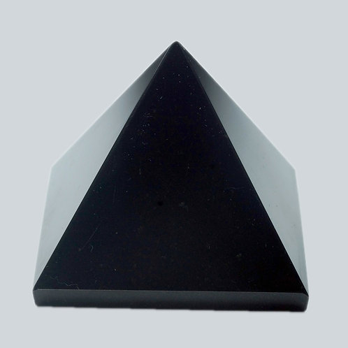 Black Agate Pyramid