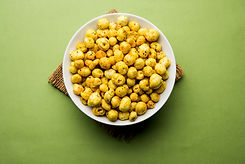 Roasted Phool Makhana or Crispy Lotus po