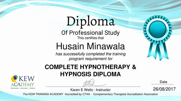 Complete Hypnotherapy & Hypnosis Diploma