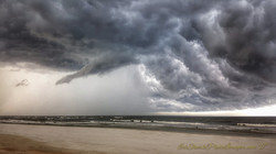Storm Clouds Inflow SR206 Crescent Beach 09.01.2017