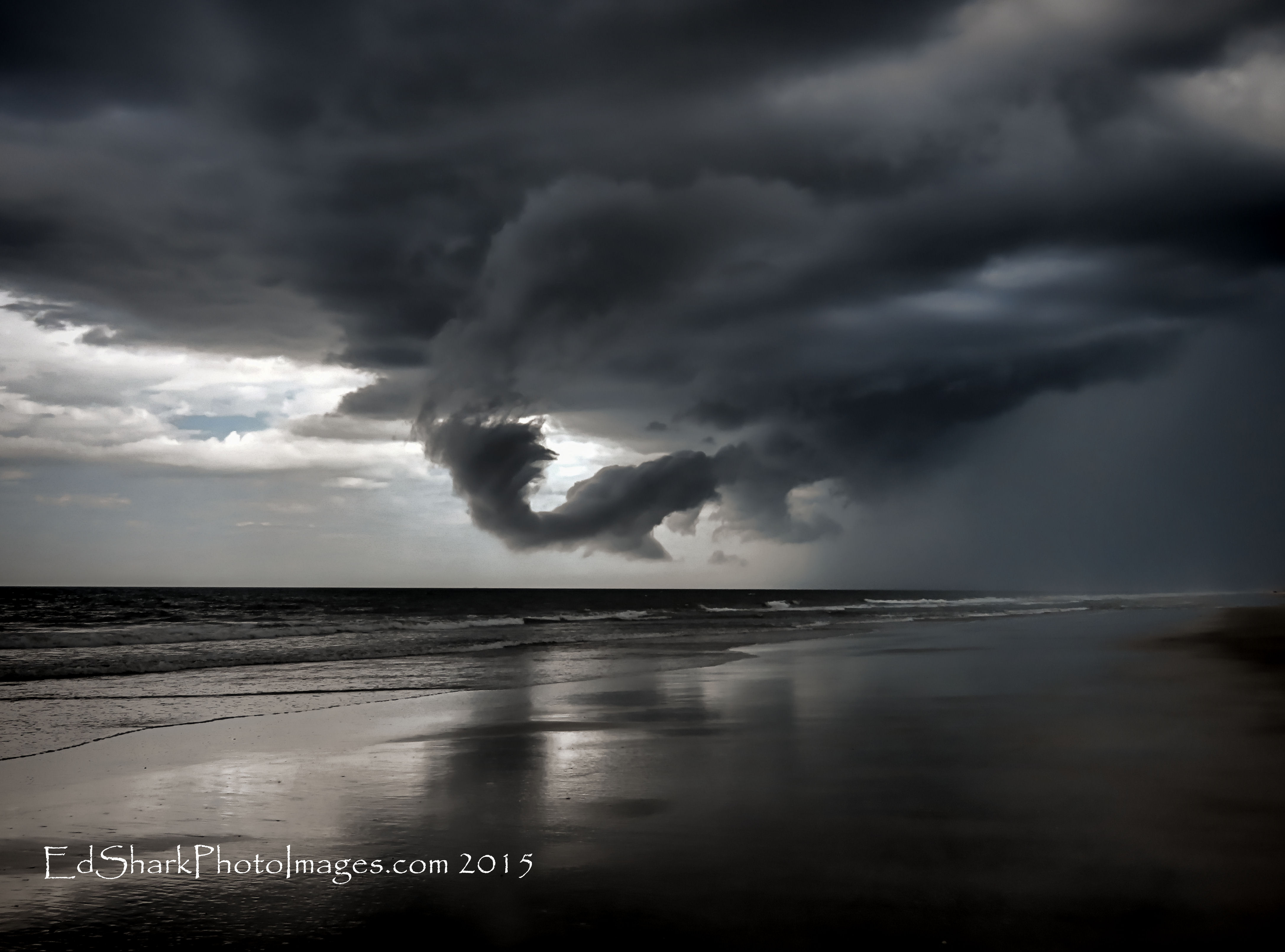 Storm Clouds Roll Ormond 07.18.2015