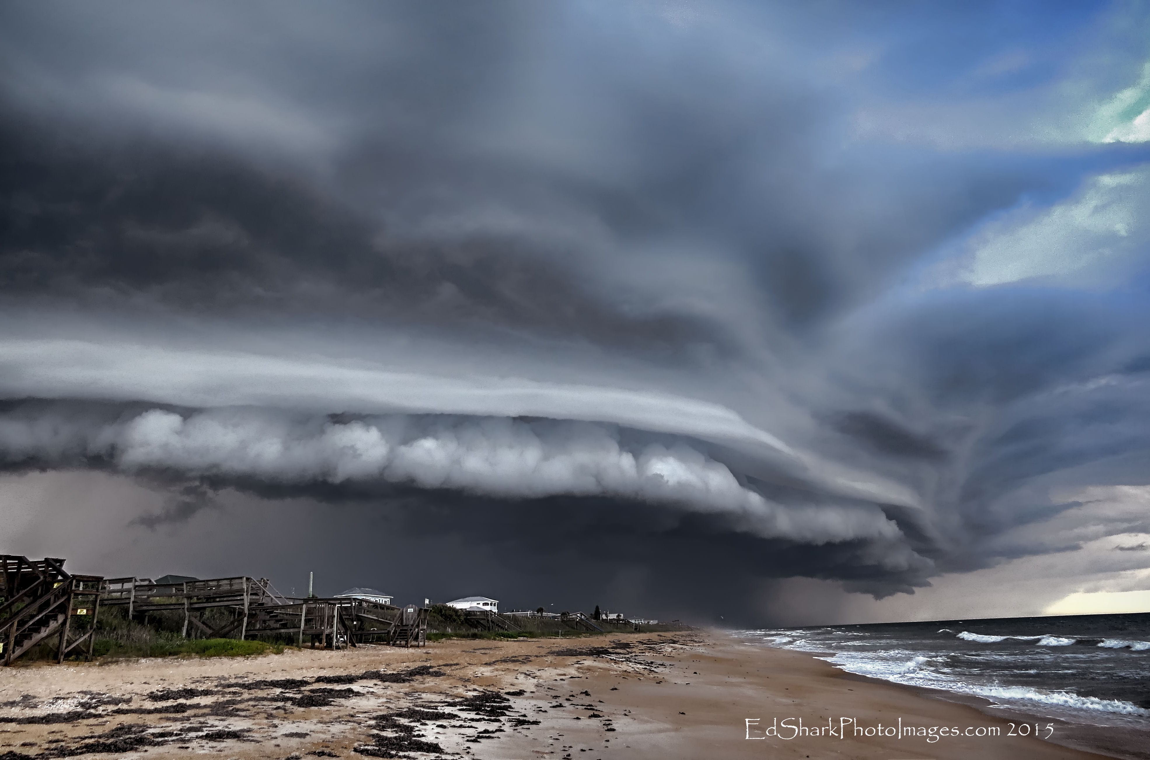 Storm Clouds Shelf Flagler 06.11.2015