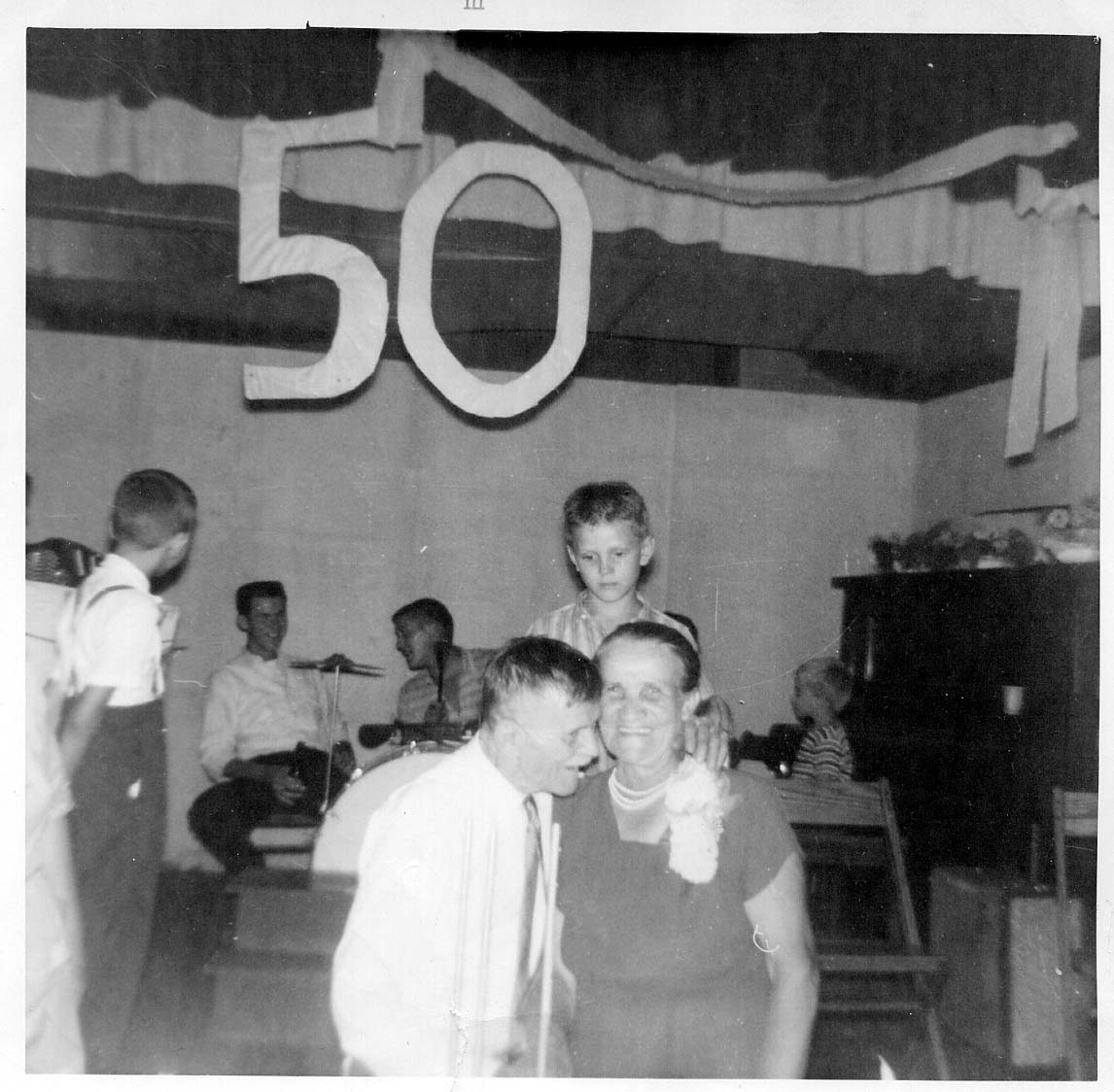 George Caroline 50th