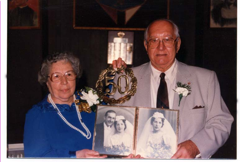 Millie and Harry Czarnecki 50th 10 22 88
