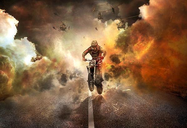 Runaway Motorcycle