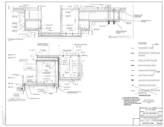 25-071000-0 _Waterproofing Shop Drawings