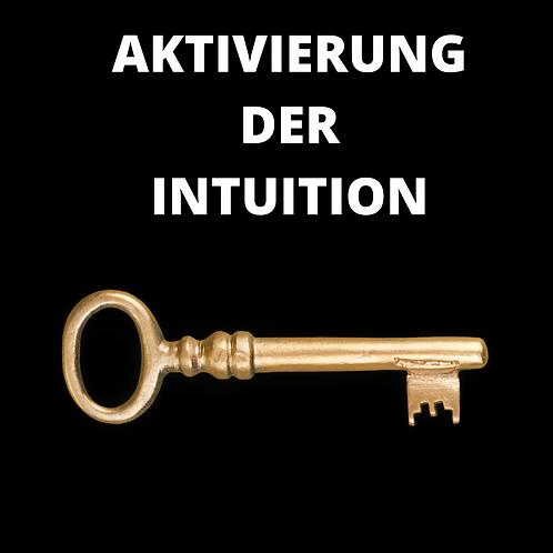 AKTIVIERUNG DER INTUITION HYPNOSE
