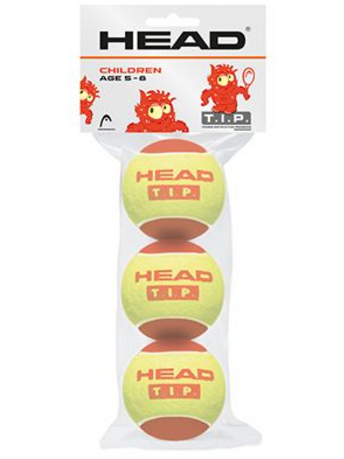 Head Mini Red Tennis Balls - Pack of 3 balls