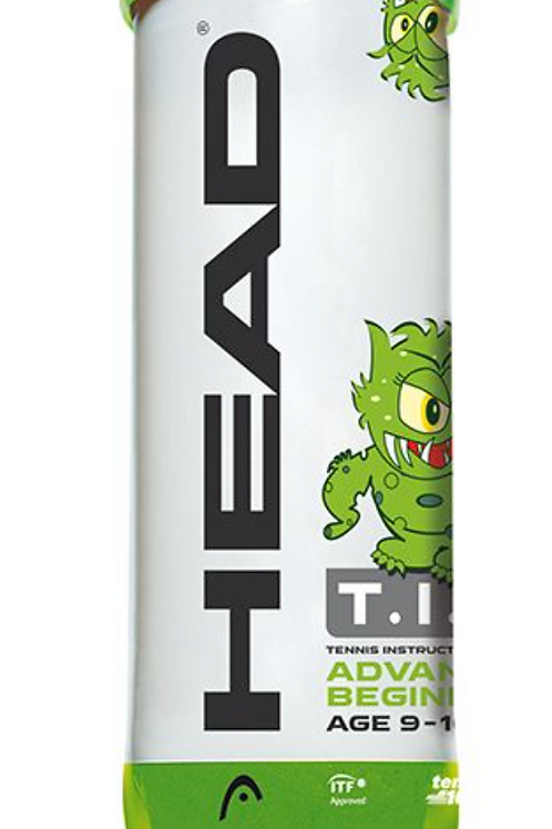 Head Mini Green Tennis Balls - Tube of 3 balls