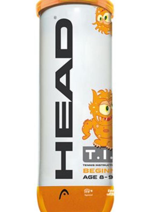 Head Mini Orange Tennis Balls - 1 Doz