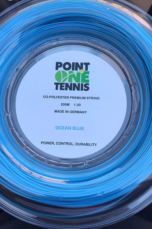 Blue Co Poly Strings - 200m Reel