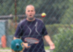 Head Coach and Racket Stringer Michael Atherfold