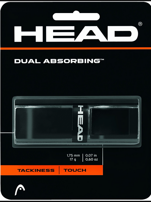 Head Dual Absorbing Grip - Black