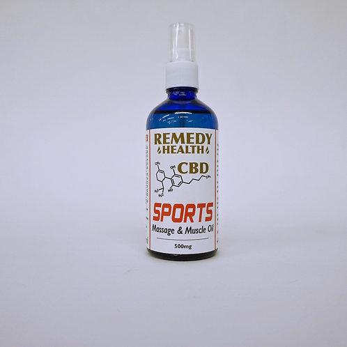Sport Deep Muscle Massage CBD Oil 100ml 500mg