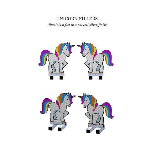 Unicorn Fillers Pair - Aluminium