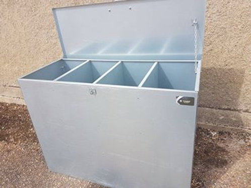 4 Compartment Standard Feed Bin
