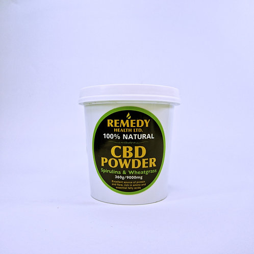 CBD Powder Spirulina & Wheatgrass