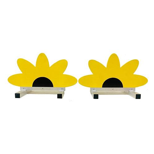 Sunflower Fillers Pair - Aluminium