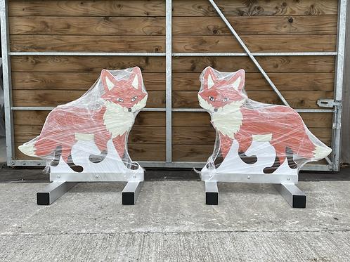Fox Fillers Pair - Aluminium
