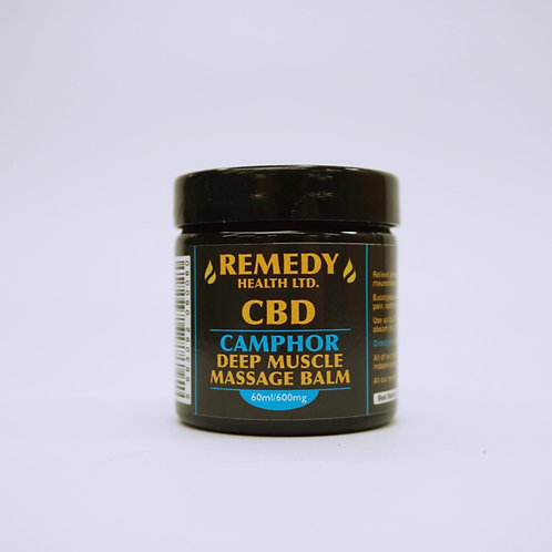 Camphor Deep Muscle CBD Massage Balm 60ml