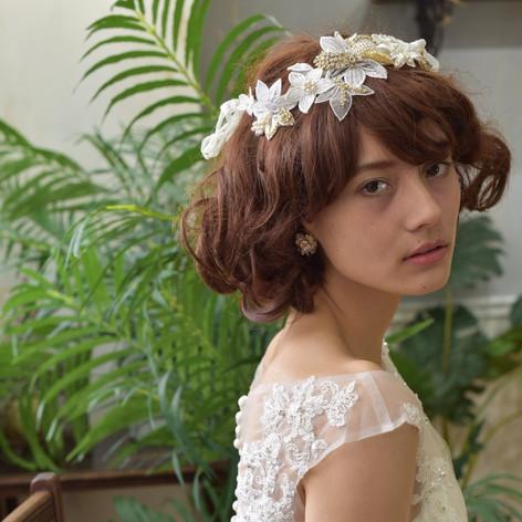 Bridal Head Accessory ブライダルヘッドアクセサリー