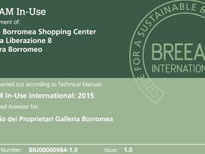 BREEAM Certificate: Good Building Good Management!