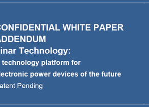 White Paper ADDENDUM: The mechanical properties of Finar Buffer.