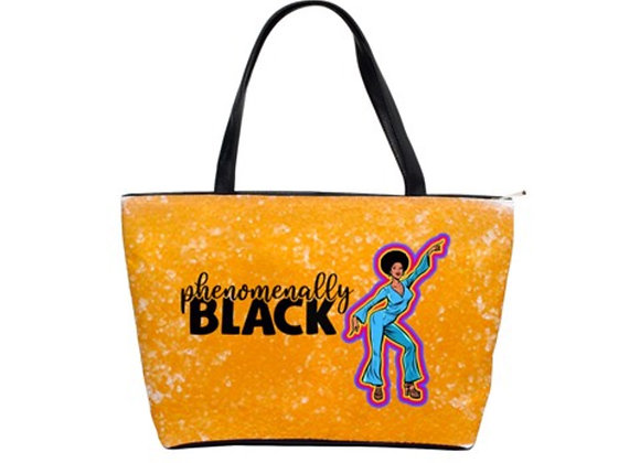 FD's Black is Beautiful Collection-Classic Shoulder Handbag 53086BBCCSH6