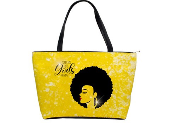 FD's Black is Beautiful Collection-Classic Shoulder Handbag 53086BBCCSH4