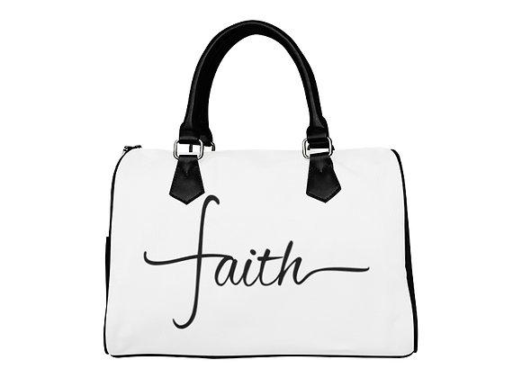 Fairlings Delight's The Word Collection- Faith 53086 Boston Handbag
