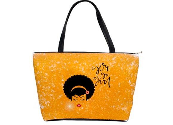 FD's Black is Beautiful Collection-Classic Shoulder Handbag 53086BBCCSH1