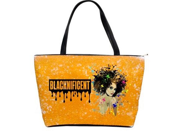 FD's Black is Beautiful Collection-Classic Shoulder Handbag 53086BBCCSH5