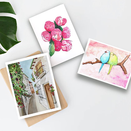 A beautiful day- card pack, set of 6.