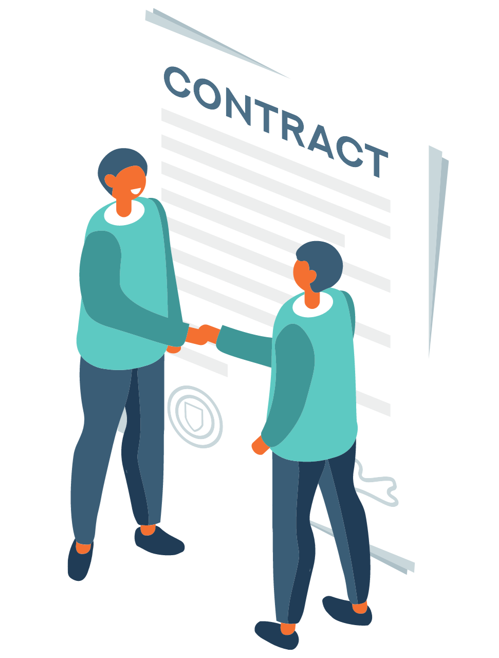 two person handshake, agree to contract, adults signing contract, rental agreement, room to rent in kuala lumpur, kl, with contract document
