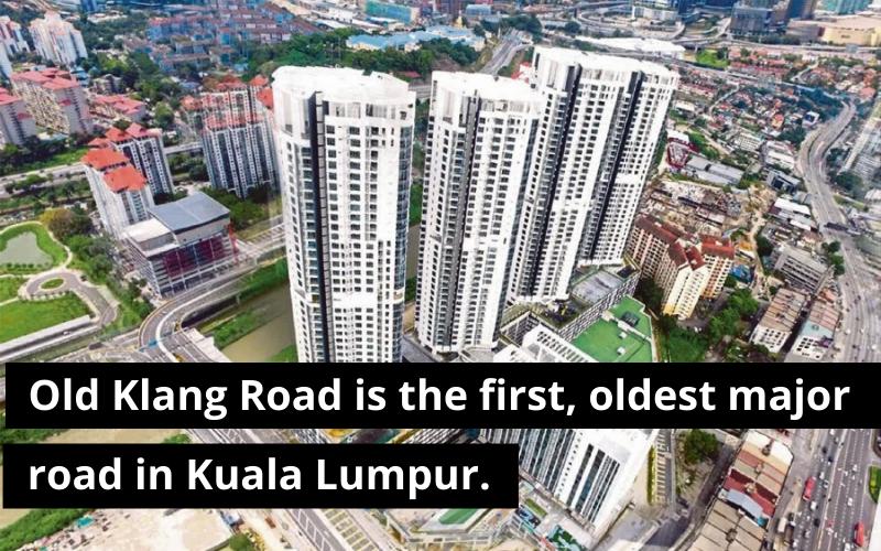 old klang road, jalan klang lama, oldest road in KLala lumpur