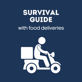 Stay-At-Home Survival Guide With Food Deliveries
