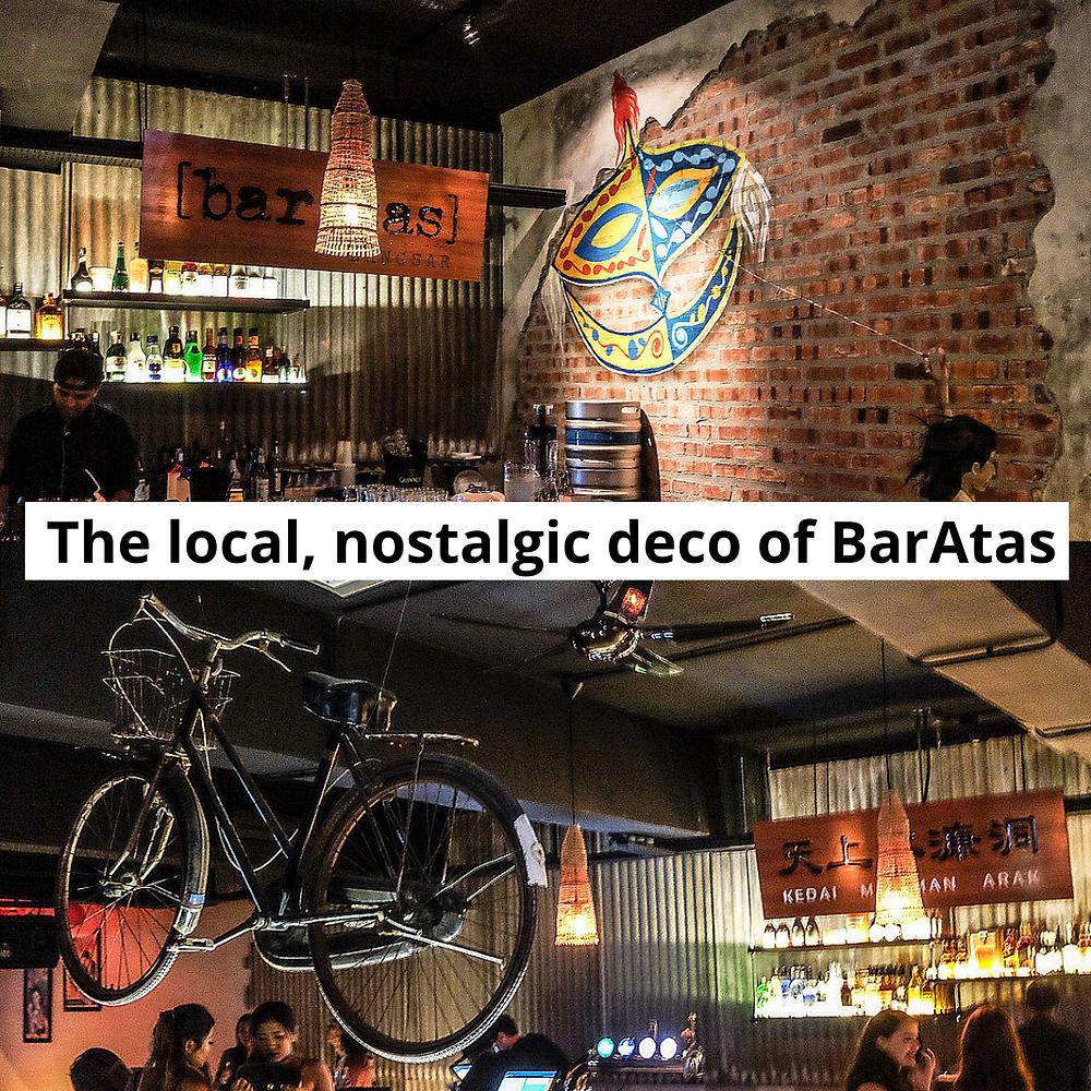 baratas cocktail bar in bangsar