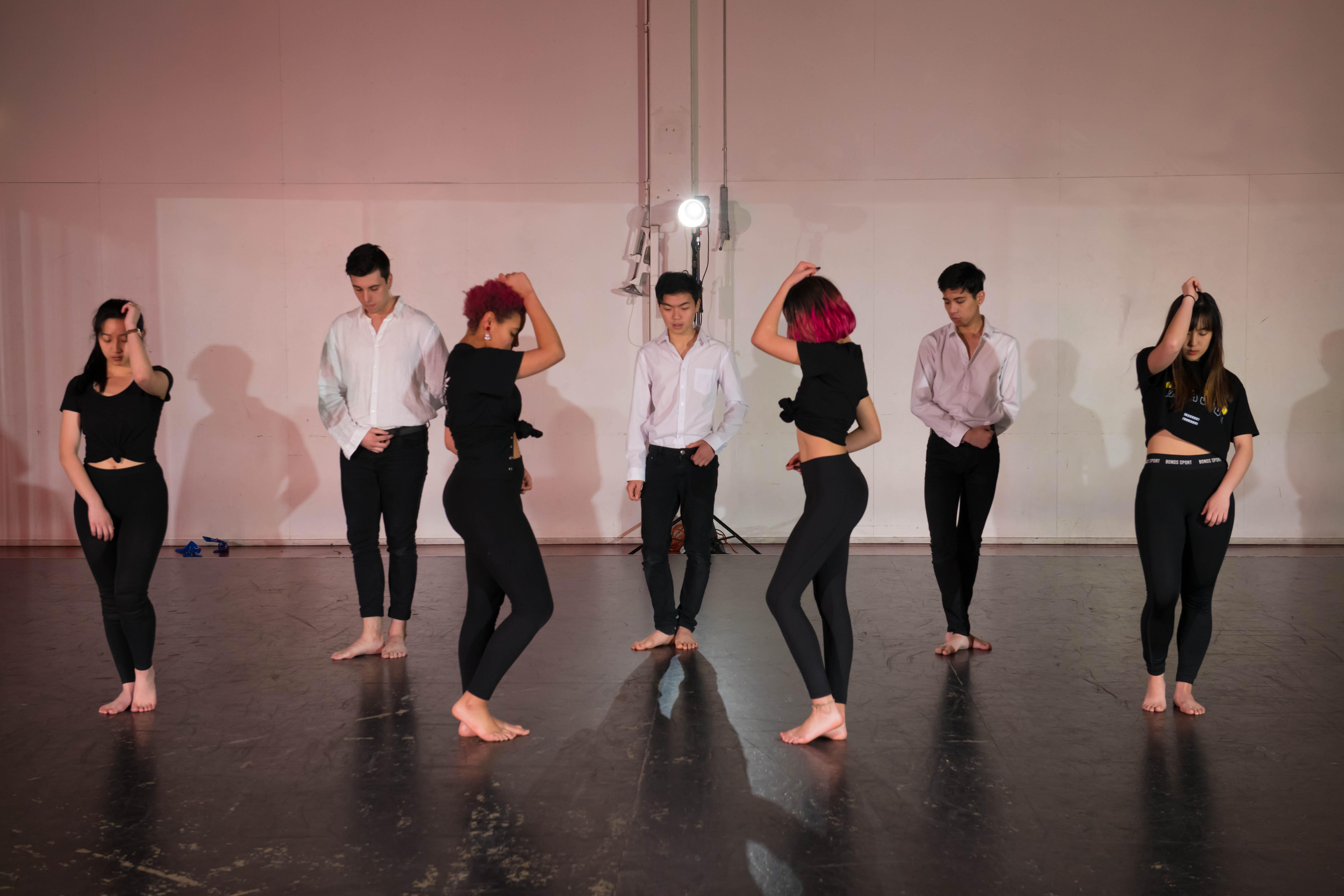 TAEM - Showcase rehearsal