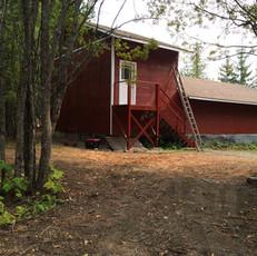 Garage from north