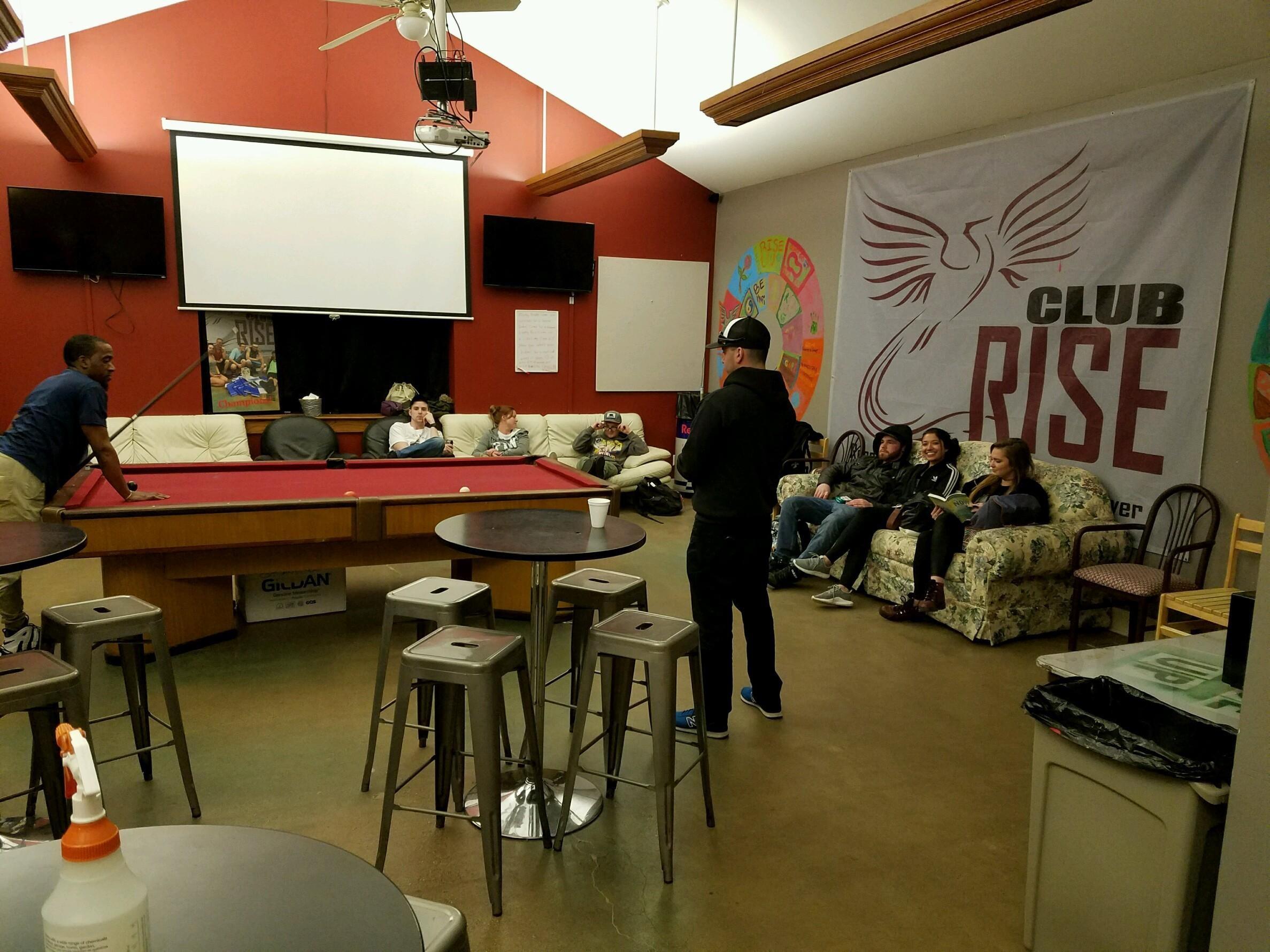 Club RISE Big Room 1