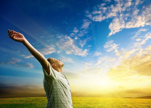 Man worshiping sun.jpg