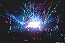The Strand Ball Room Concert Laser Light