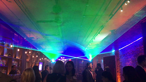 Special event laser show for corporate meeting in Kentucky