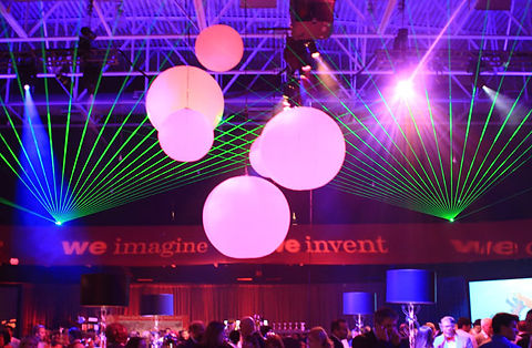 Indiana Convention Center Special Event laser show