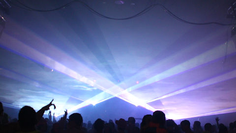 XL Center Hartford CT Concert Laser show