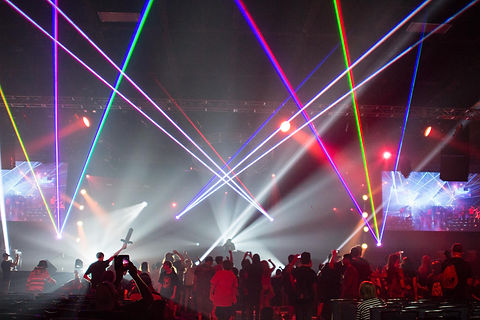 Charlotte Convention Center Special Event Lasers