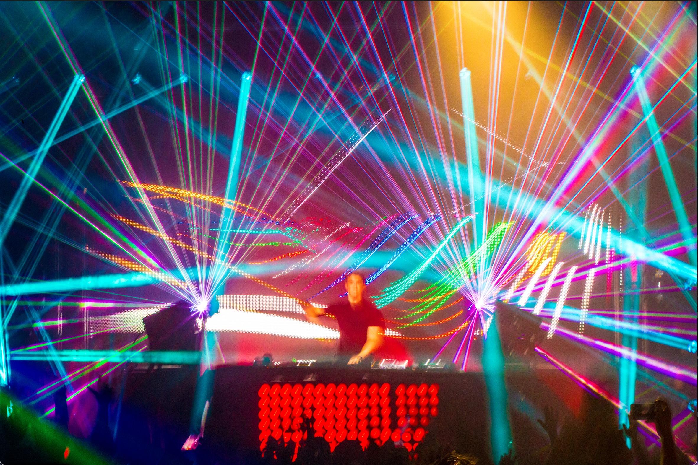 930 Club Creative COncert Laser Lighting